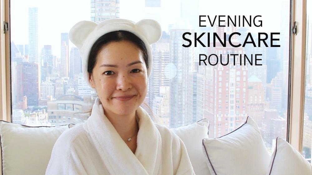 Summer Evening Skincare Routine