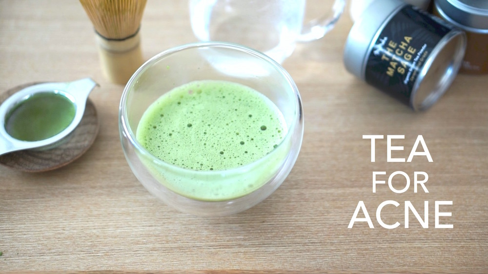 Tea to Treat Hormonal Acne & How To Make Matcha!