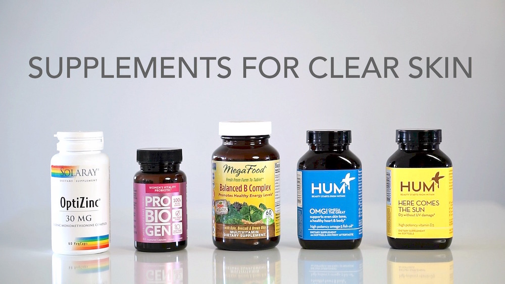 Five Best Supplements for Clear Skin